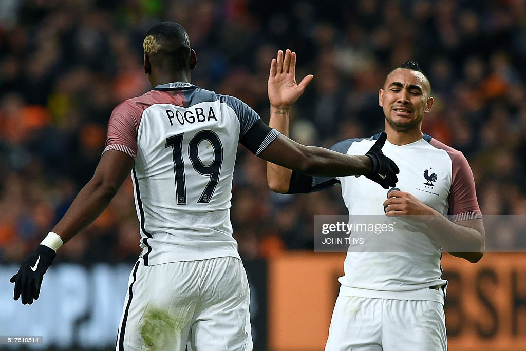FBL-EURO-2016-FRIENDLY-NED-FRA : News Photo