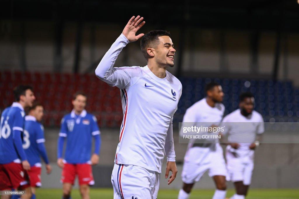 FBL-U21-EURO-2021-QUALIFIER-LIE-FRA : News Photo