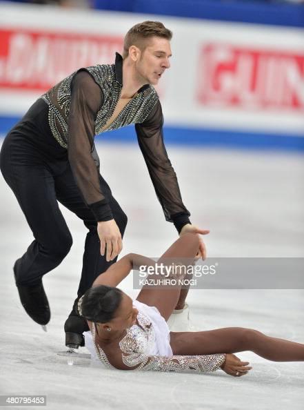 France S Morgan Cipres L Drops His Partner Vanessa James