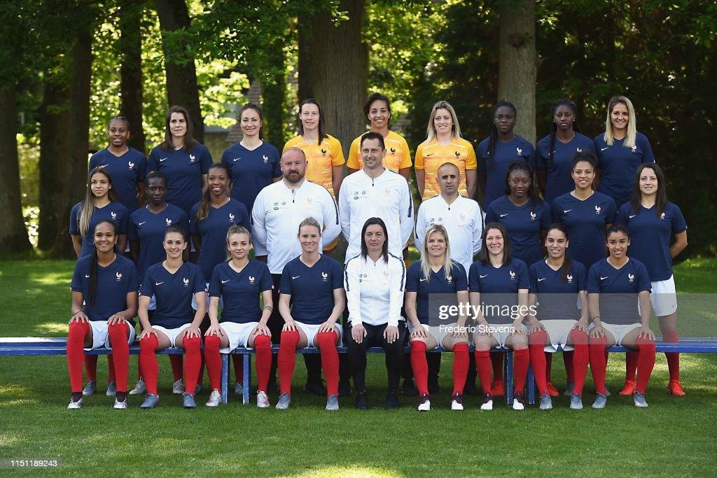 FRA: France Soccer Team : Presentation At Clairefontaine