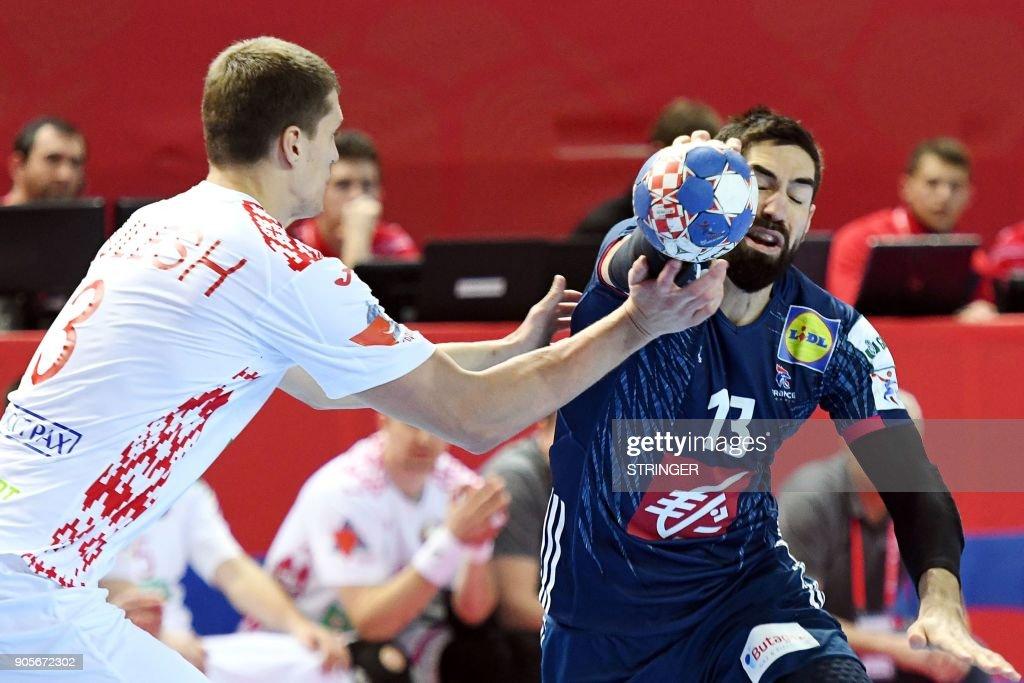 France vs Belarus - European Handball Championship