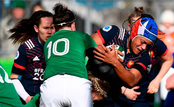 Ireland women v france women rbs six nations photos and for The woman in number 6