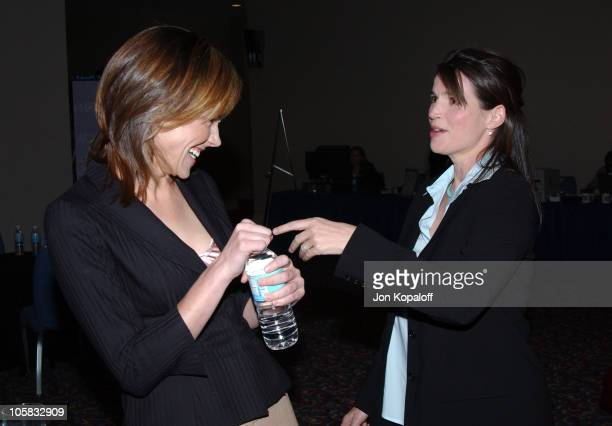 Frances O'Connor and Julia Ormond during 2004 Home Box Office TCA at The Renaissance Hollywood Hotel in Hollywood California United States