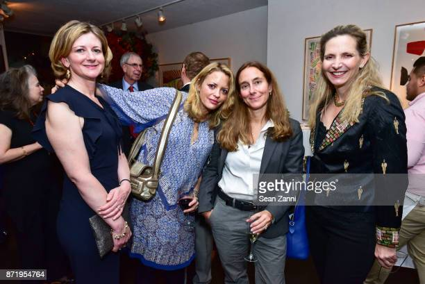 Frances Osborne Elizabeth Wurtzel Roberta Brzezinski and Amanda Foreman attend Tina Brown's publication party for The Vanity Fair Diaries at...