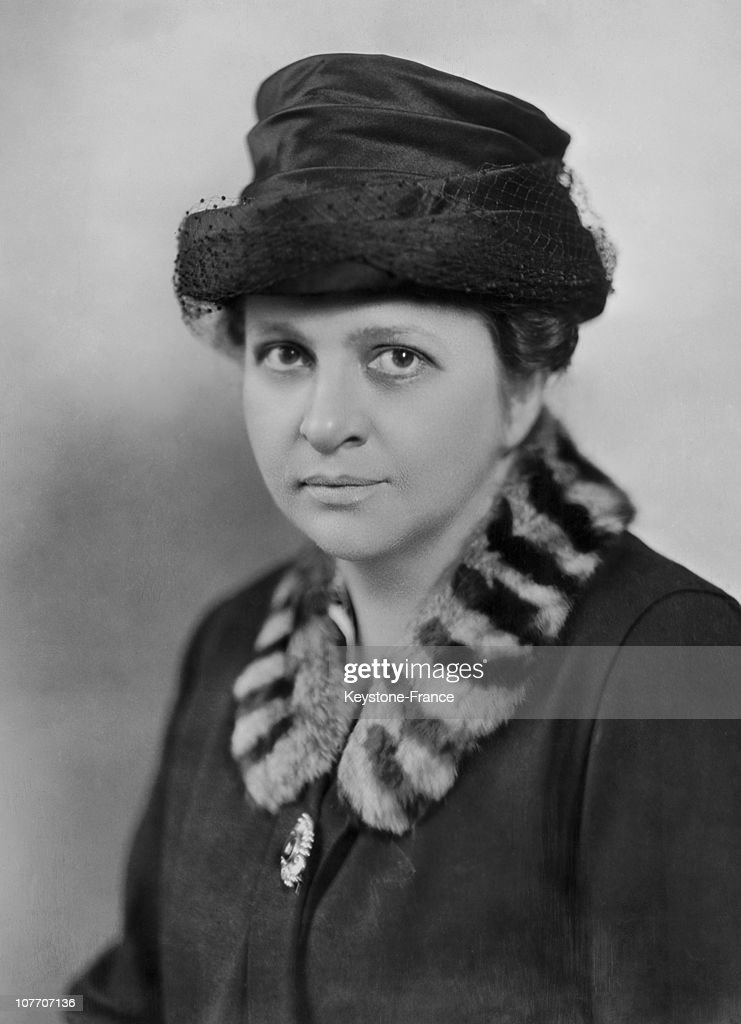 Frances Perkins Member Of The Industrial Commission Of State Of New York Usa Around 1928 : News Photo