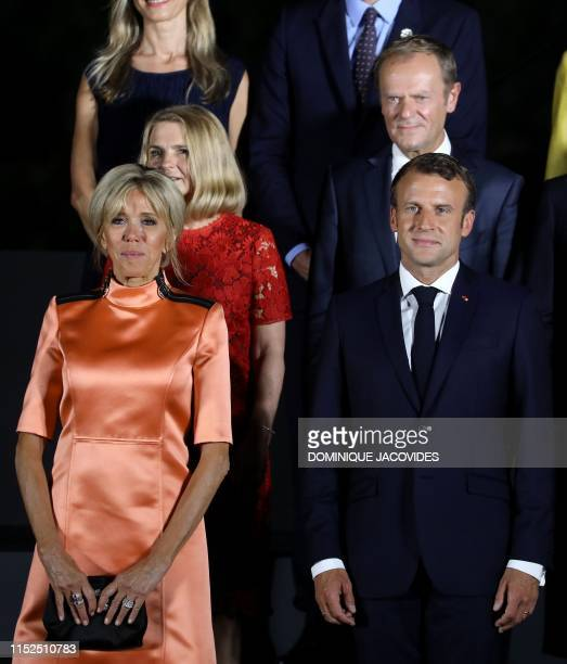 8 536 Emmanuel Macron Wife Photos And Premium High Res Pictures Getty Images