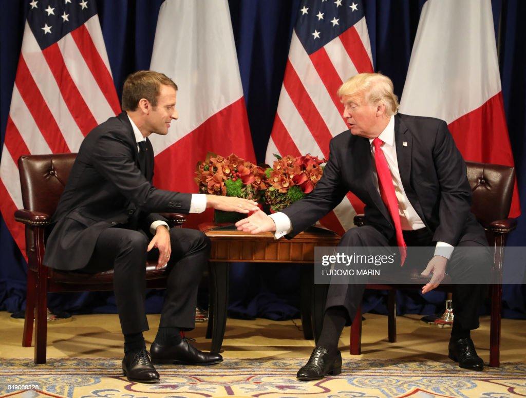 US-FRANCE-DIPLOMACY : News Photo