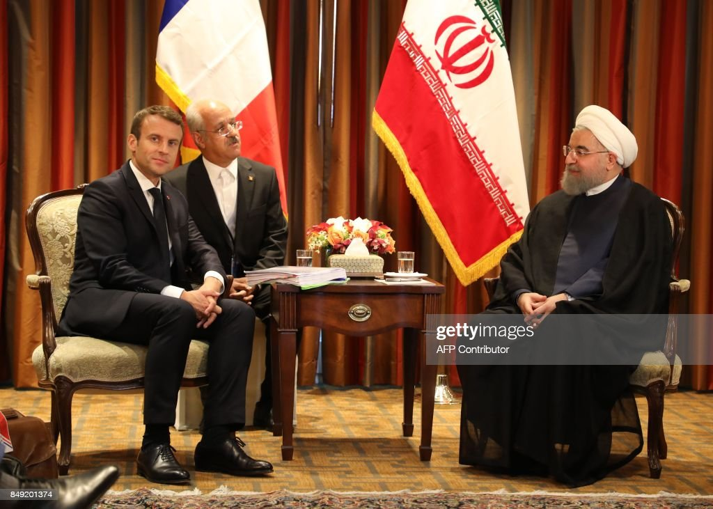 US-FRANCE-IRAN-DIPLOMACY : News Photo