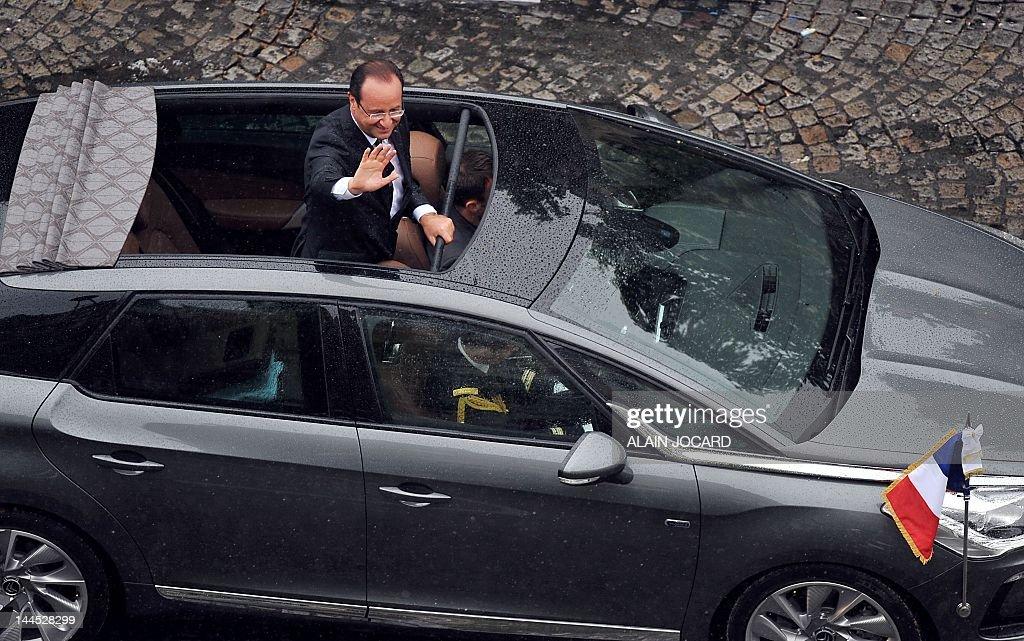 France's President Francois Hollande parades in a Citroen DS5 hybrid on citroen ds23, citroen suv, citroen van, citroen c5, citroen cs, citroen xsara, citroen gs, citroen cv, citroen c7, citroen ds2, citroen 11cv, citroen mehari, citroen bx, citroen dyane, citroen zx, citroen 1970 models, citroen maserati, citroen xm, citroen deux chevaux, citroen ds1,
