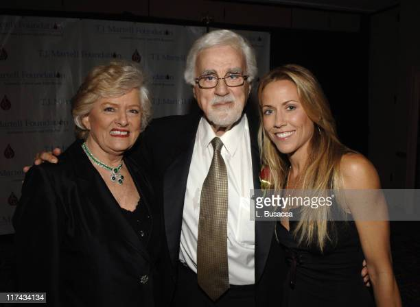 Frances Preston Tony Martell Chairman and Founder of the TJ Martell Foundation and Sheryl Crow at the TJ Martell Foundation's 31st Annual Awards gala...