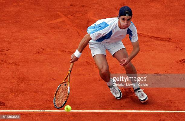 France's Richard Gasquet defeats Italy's Daniele Bracciali in their first round match of the French Open tennis tournament at Roland Garros stadium....