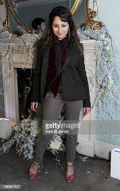 Frances Ruffelle attends a party celebrating the partnership between international fashion retailer Claire's and the world'sleading children's...