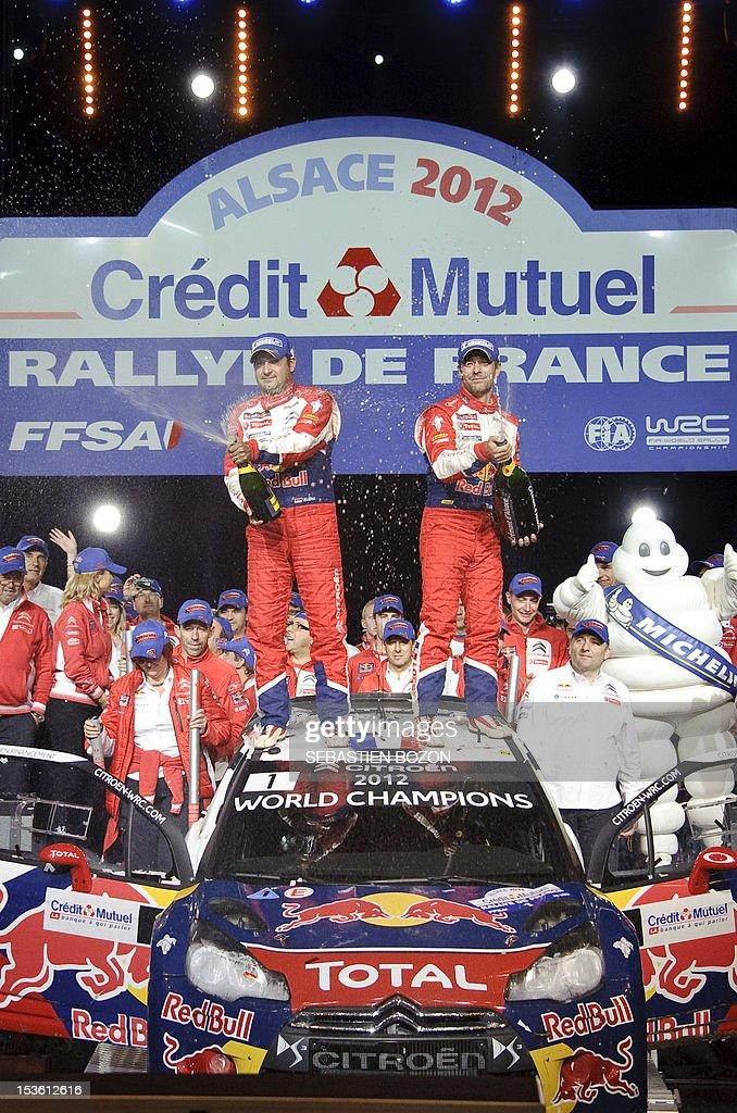 Rally Motor Credit >> France S Sebastien Loeb And Co Driver Monaco S Daniel Elena