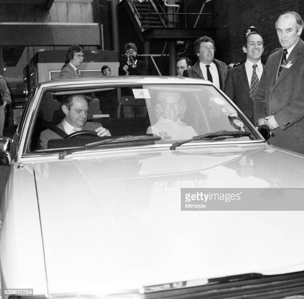 Frances Shand Kydd mother of Lady Diana Spencer recently engaged to Prince Charles receives a great deal of media attention as she arrives at London...