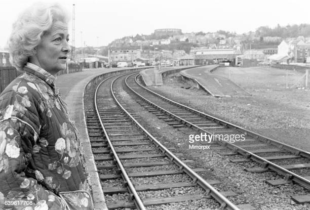 Frances Shand Kydd mother of Princess Diana Princess of Wales pictured in Oban Argyll and Bute The Highlands Scotland where she ownes and runs a gift...