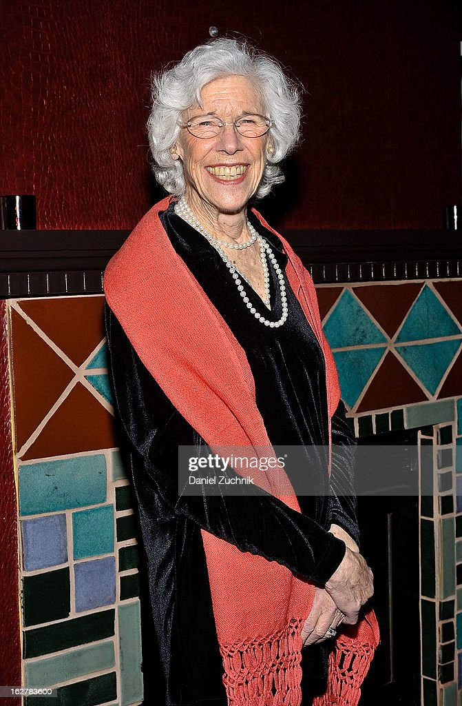 Frances Sternhagen attends 'The Madrid' opening night party at Red Eye Grill on February 26, 2013 in New York City.