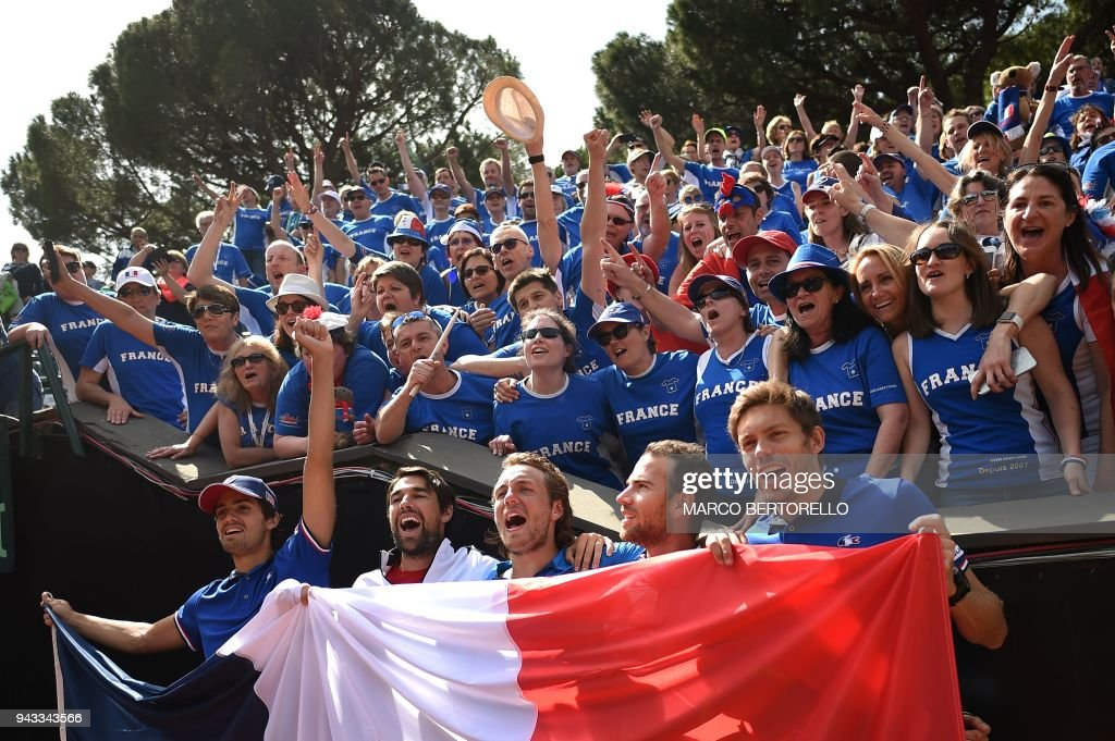 Italy v France - Davis Cup by BNP Paribas World Group Quarter Final