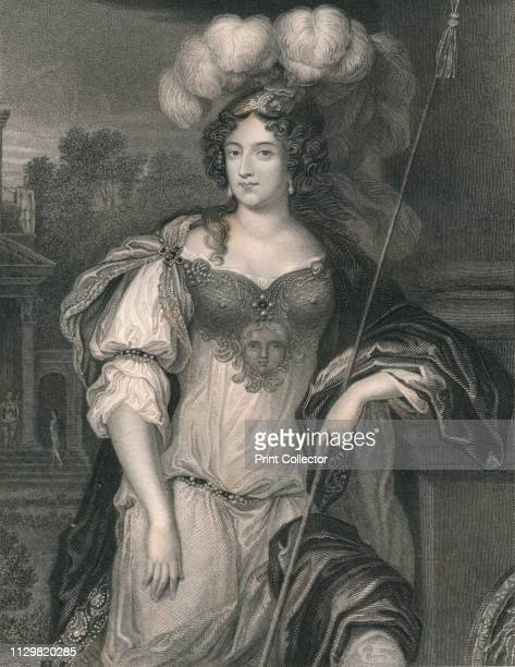 'Frances Theresa Stewart Duchess of Richmond' Portrait of Frances Duchess of Richmond the original model for the figure of Britannia on coins since...