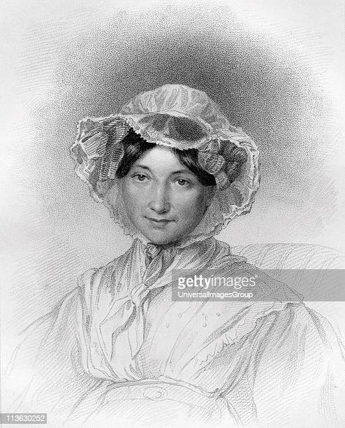 Frances Trollope 1780 to 1863 English novelist Engraved by W Holl after Miss L Adams From the book The National Portrait Gallery Volume IV published...