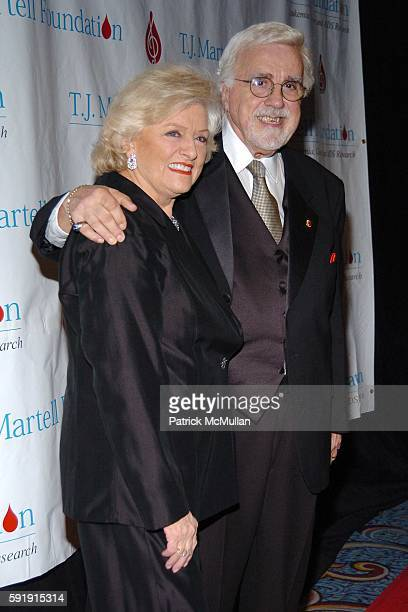 Frances W Preston and Tony Martell attend The TJ Martell Foundation 30th Anniversary Gala at Marriott Marquis Hotel on October 6 2005 in New York City