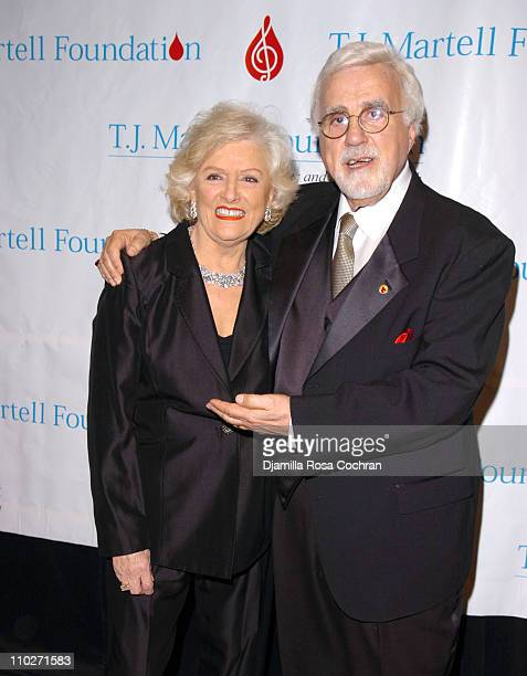 Frances W Preston and Tony Martell during TJ Martell Foundation October 6 2005 at Marriott Marquis in New York City New York United States