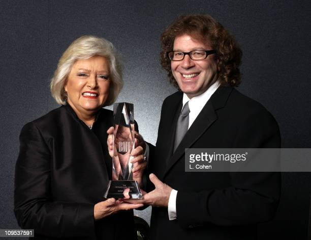 Frances W Preston presents the Richard Kirk award to composer Randy Edelman