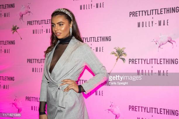 Francesca Allen attends the Pretty Little Thing X MollyMae party at Rosso on September 01 2019 in Manchester England