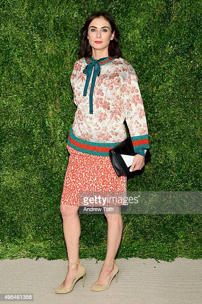 Francesca Amfitheatrof attends the 12th annual CFDA/Vogue Fashion Fund Awards at Spring Studios on November 2, 2015 in New York City.
