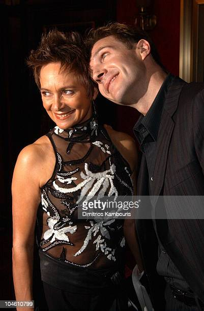 Francesca Annis and Ralph Fiennes during Red Dragon New York City Premiere at Ziegfeld Theatre in New York City New York United States