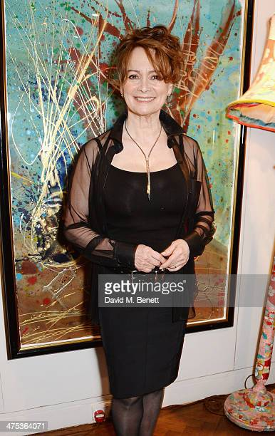 """Francesca Annis attends the afterparty for Peter Gill's """"Versailles"""" at The Hospital Club on February 27, 2014 in London, England."""