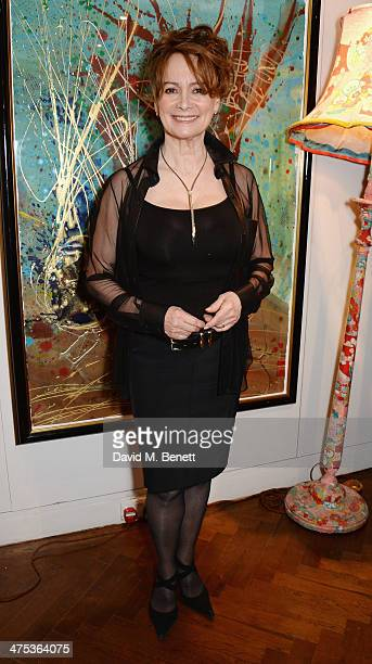 Francesca Annis attends the afterparty for Peter Gill's Versailles at The Hospital Club on February 27 2014 in London England