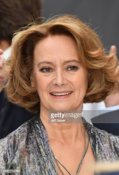 Francesca Annis attends the World Premiere of 'King Of Thieves' at Vue West End on September 12, 2018 in London, England.