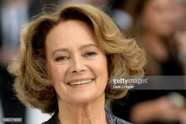 Francesca Annis attends the World Premiere of 'King Of Thieves' at Vue West End on September 12 2018 in London England