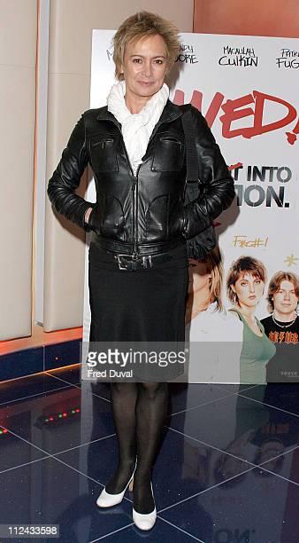 Francesca Annis during Saved London Premiere Arrivals at Apollo Cinema Regents Street in London United Kingdom
