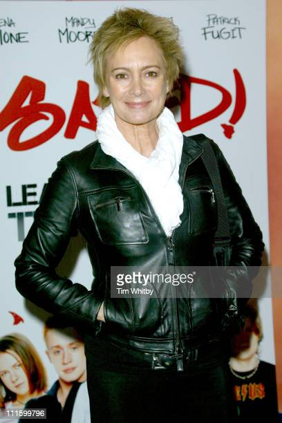 Francesca Annis during Saved London Premiere at Apollo Cinema Regent's Street in London United Kingdom