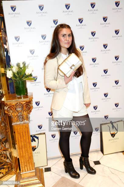 Francesca Barrow attends the launch of the Aspinal of London store on Regent's Street St James's on December 5 2017 in London England