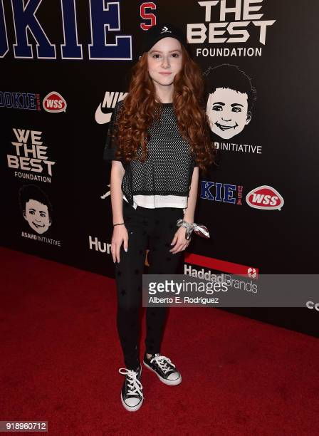 Francesca Capaldi attends the 2018 Rookie USA Show at Milk Studios on February 15 2018 in Los Angeles California
