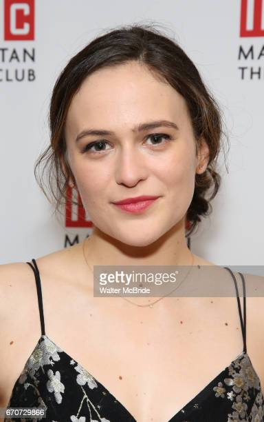 Francesca Carpanini attending the Broadway Opening Night After Party for 'The Little Foxes' at the Copacabana on April 19 2017 in New York City