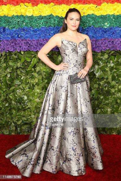 Francesca Carpanini attends the 2019 Tony Awards at Radio City Music Hall on June 9 2019 in New York City