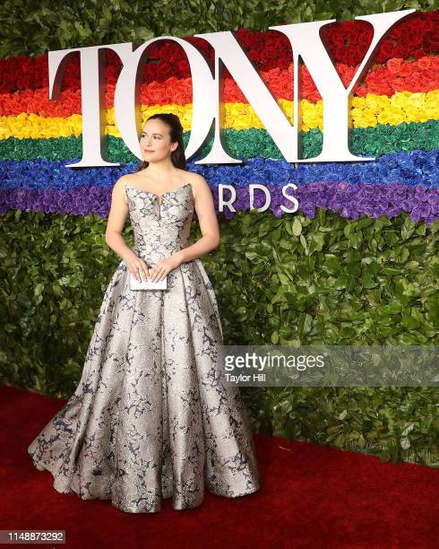 Francesca Carpanini attends the 2019 Tony Awards at Radio City Music Hall on June 9 2019 in New York City