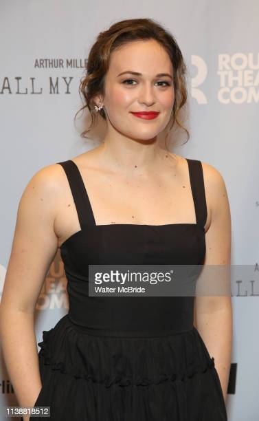Francesca Carpanini attends the Broadway Opening Night After Party for All My Sons at The American Airlines Theatre on April 22 2019 in New York City