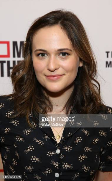 Francesca Carpanini attends the opening night performance of the MCC Theater's 'Alice By Heart' at The Robert W Wilson Theater Space on February 26...