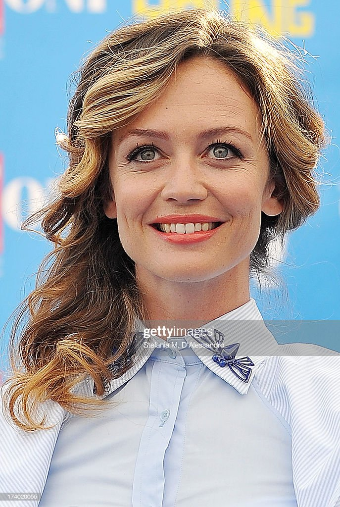 Francesca Cavallin attends 2013 Giffoni Film Festival photocall on July 19, 2013 in Giffoni Valle Piana, Italy.