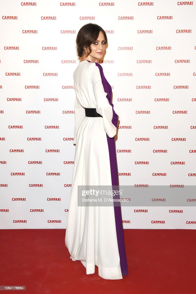 121210c6ac7 Francesca Cavallin attends Campari Red Diaries 2019 Premiere Event ...