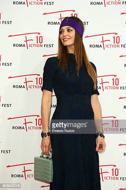 Francesca Cavallin attends 'Di padre in figlia' red carpet during the Roma Fiction Fest 2016 at The Space Moderno on December 8 2016 in Rome Italy