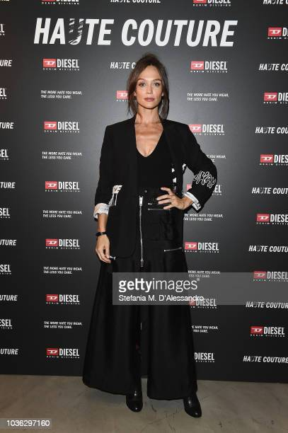 Francesca Cavallin attends Diesel Hate Couture on September 19 2018 in Milan Italy