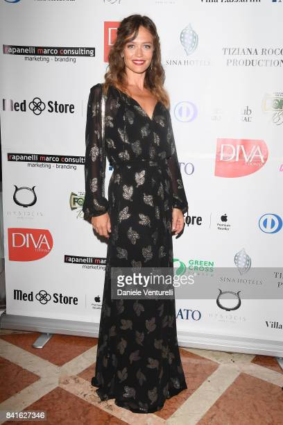 Francesca Cavallin attends Diva e Donna Party at Centurion Palace during the 74th Venice Film Festival on September 1 2017 in Venice Italy