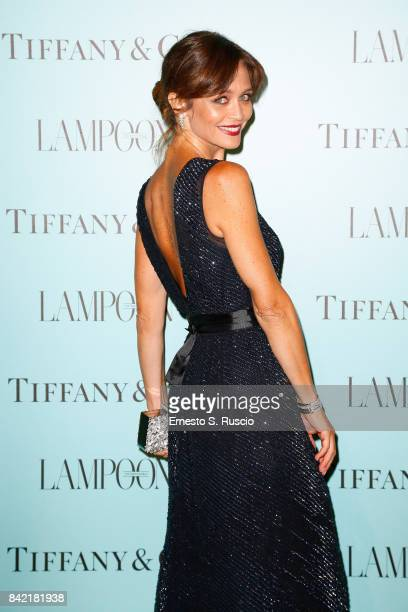 Francesca Cavallin attends Keep On Shining Party Tiffany and Co For Lampoon Magazine at Conservatorio Di Venezia on September 2 2017 in Venice Italy