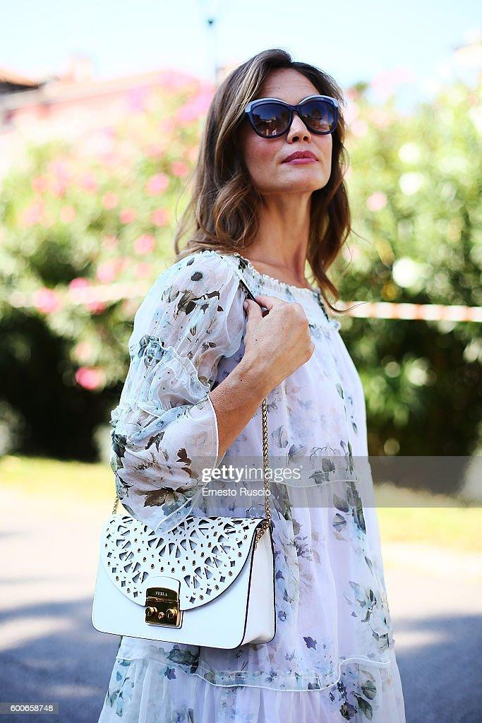 Francesca Cavallin Is Wearing Margela Shoes Furla Bag Glasses