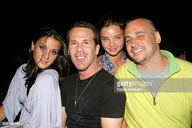 Francesca Cecil Scott Lipps Miranda Kerr and Todd Moscowitz attend Patrick McMullan Dave Zinczenko invite you to a Summer BBQ for Eric Kimberly...
